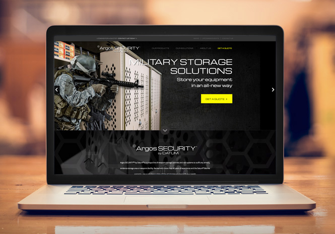 ArgosSECURITY™ Website Design - Website Design by Visual Impact Group