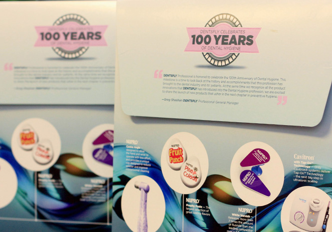 DENTSPLY 100-Year Celebration Box - Print & Packaging Design by Visual Impact Group