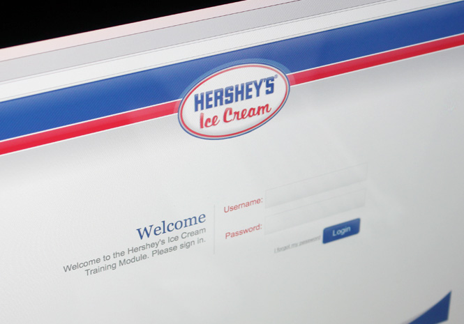 Learning Management System for Hershey's Ice Cream by Visual Impact Group