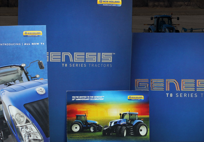 New Holland Genesis™ T8 Series Tractor Product Launch - Product Launch by Visual Impact Group