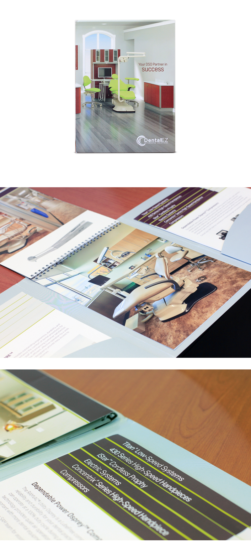 DSO Product Sales & Product Literature Design by VIG