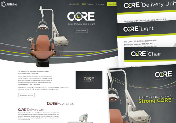 DentalEZ Core Tour - Product Launch Campaign by Visual Impact Group